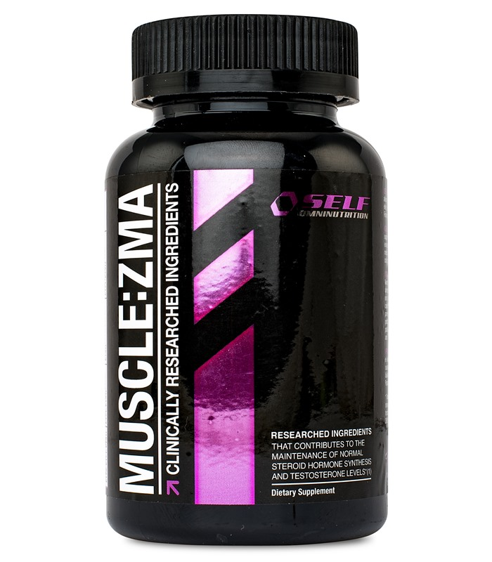Muscle ZMA, Muskelbyggande - Self Omninutrition