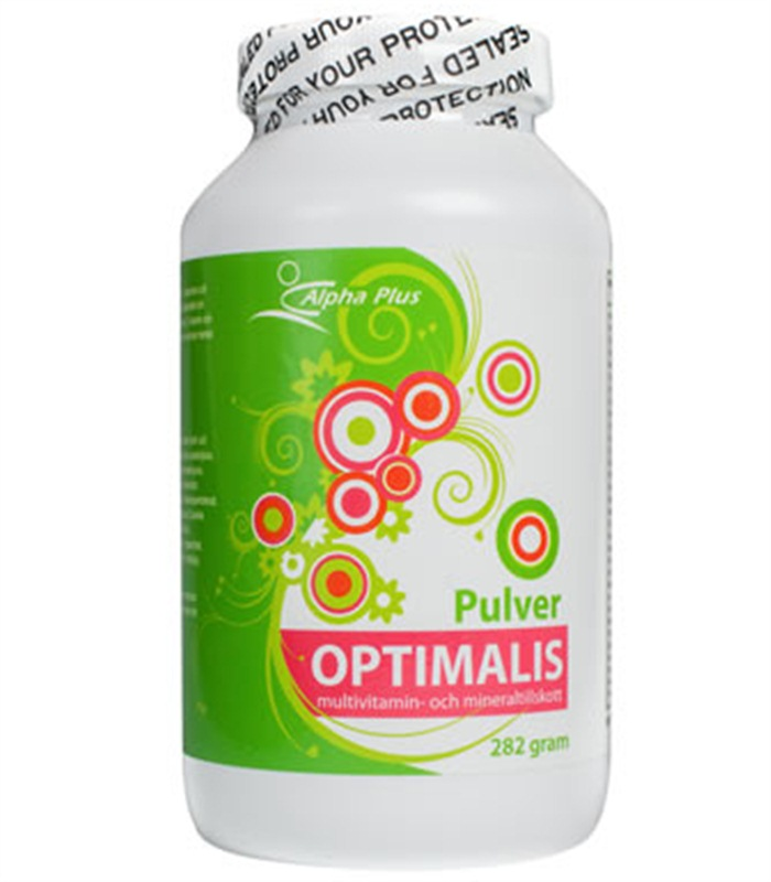 Optimalis Pulver, H�lsa & V�lm�ende - Alpha Plus