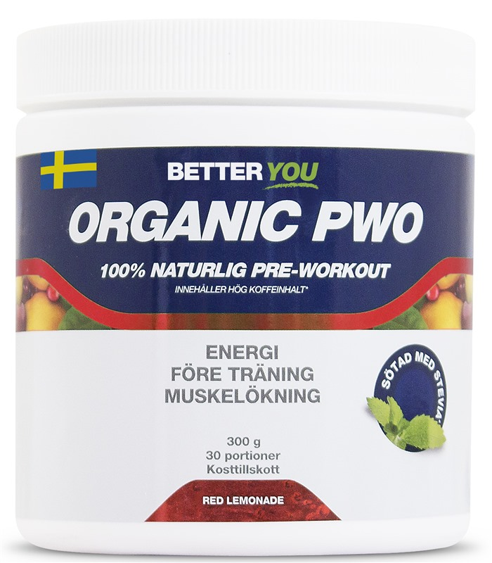 Organic PWO, Muskelbyggande & Prestation - Better You