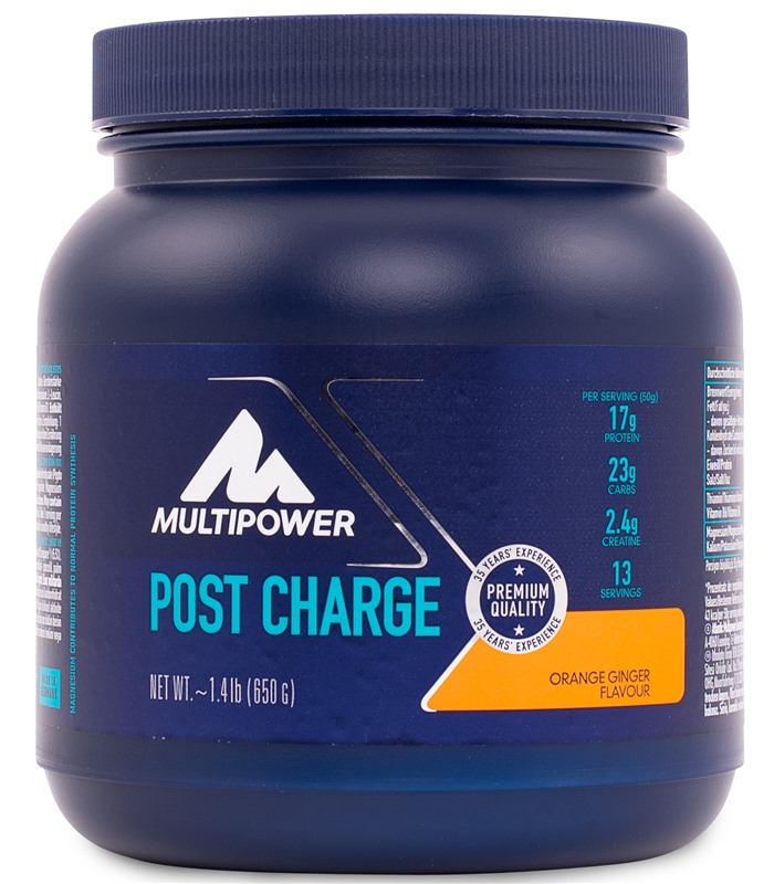Post Charge, Muskelbyggande & Prestation - Multipower