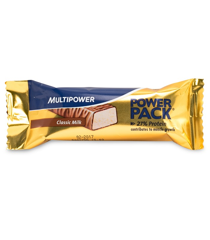 Power Pack Bar, Näringstillskott, protein - Multipower