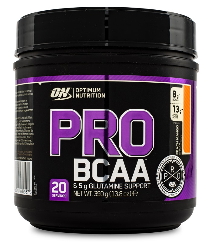 PRO BCAA, Muskelbyggande & Prestation - Optimum Nutrition
