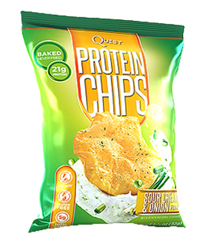 Quest Chips, Muskelbyggande & Prestation - Quest Nutrition