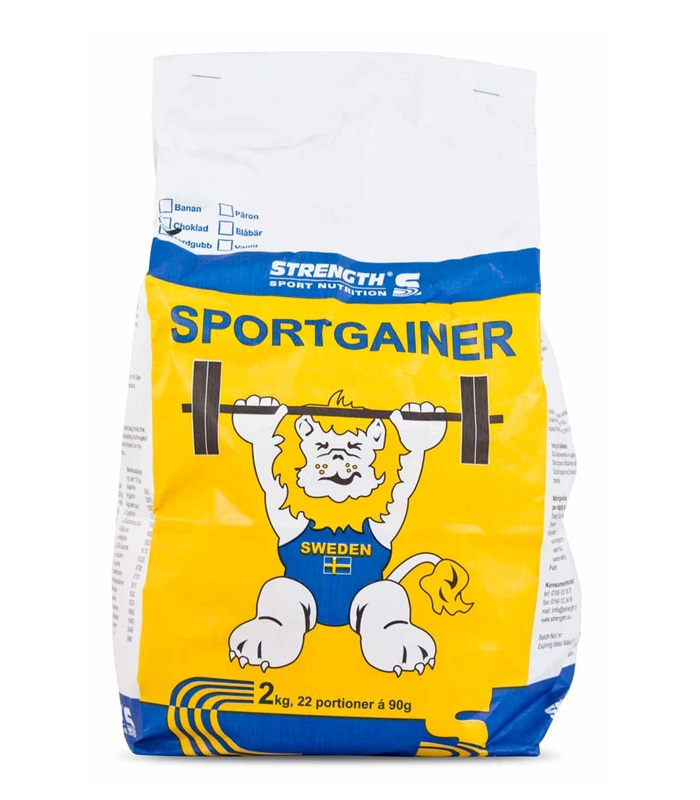 Sport Gainer , Näringstillskott, protein - Strength