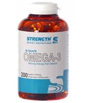 Strength Omega-3 200 kapslar