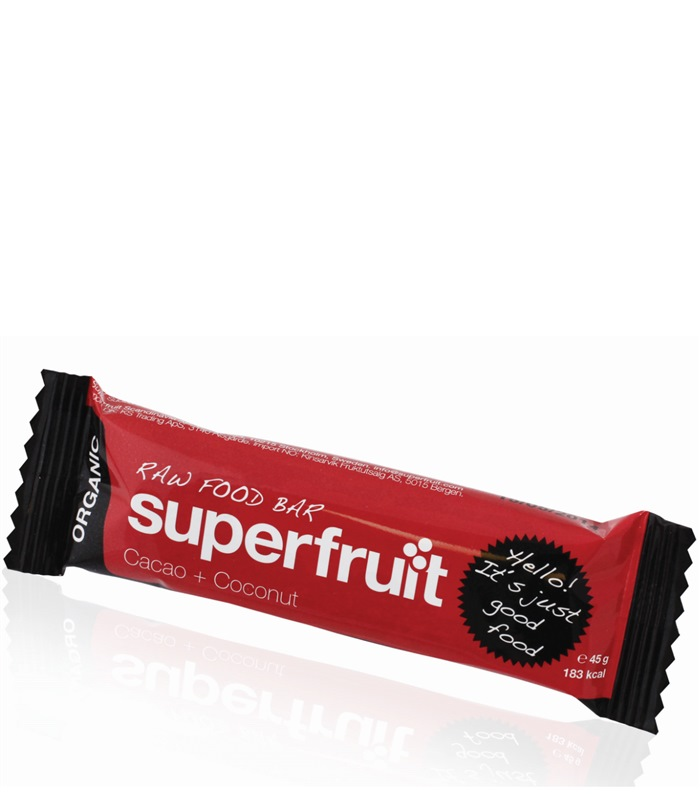 Superfruit Raw Bar EKO, Näringstillskott, protein - Superfruit