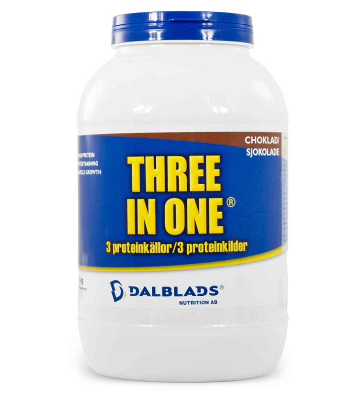 Three in One, Näringstillskott, protein - Dalblads