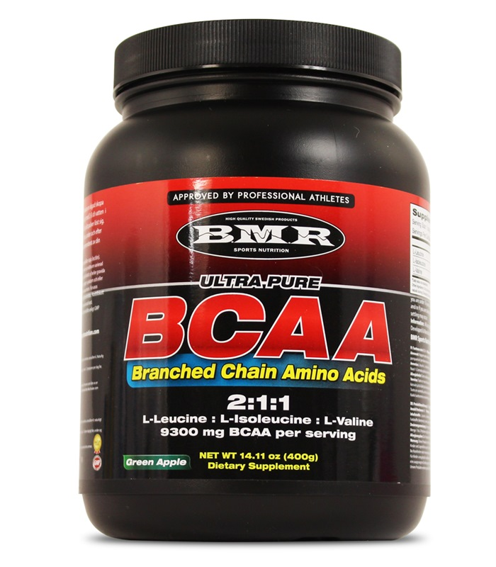 Ultra Pure BCAA, Aminosyror - BMR Sports Nutrition