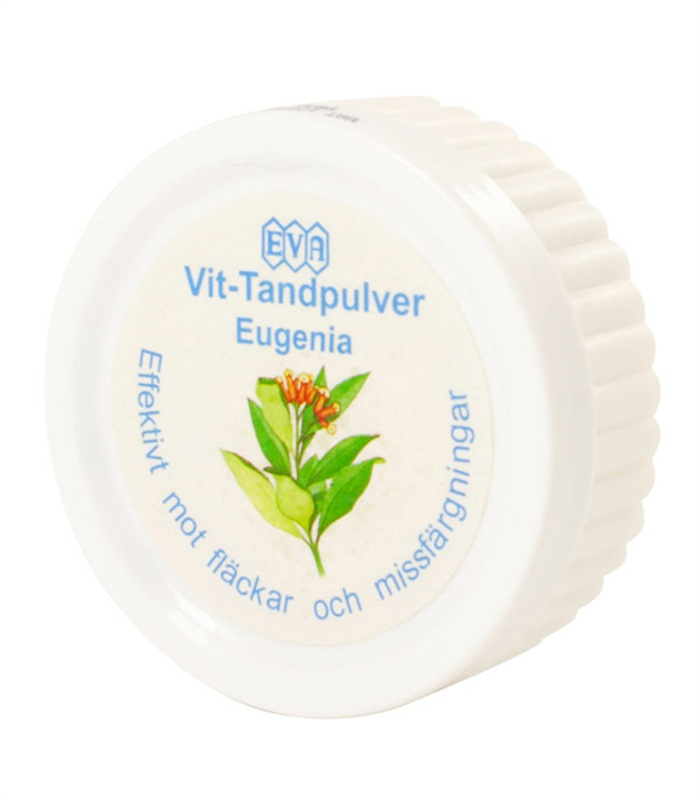 Vit-Tandpulver Eugenia,  - Speed Import