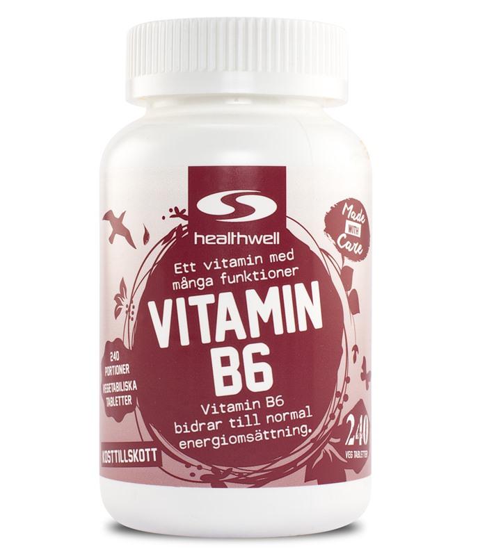 vitamin b6 överdos