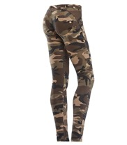 WR.UP Skinny Fit Camouflage