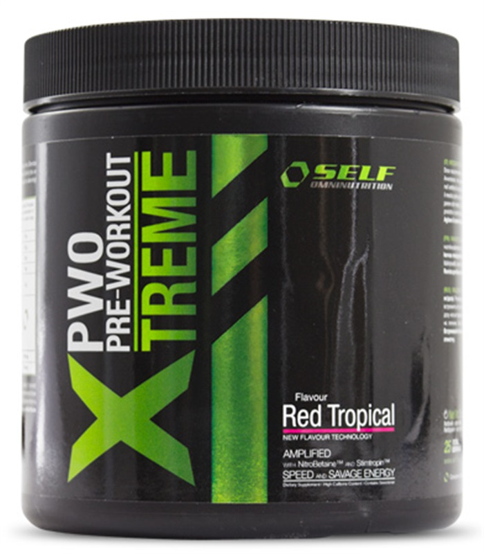 Xtreme PWO, Muskelbyggande & Prestation - Self Omninutrition